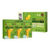 Hansamin Kids Red Ginseng for 8-13 Years 0.85oz(25ml) 30 Pouches, 한삼인 아이홍삼 2단계(8세-13세) 0.85oz(25ml) 30포