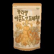Gillim Tom's Farm Caramel Almond & Pretzel 7.4oz(210g), 길림 탐스팜 아몬드 카라멜 아몬드 프레첼 7.4oz(210g)