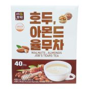 Danongwon Walnuts Almonds Job's Tears Tea 0.63oz(18g) 40 Packs, 다농원 호두 아몬드 율무차 0.63oz(18g) 40개입