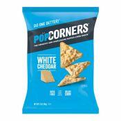 PopCorners Popped Corn Chips White Cheddar 5oz(142g), 팝코너스 팝콘칩 화이트 체다 5oz(142g)