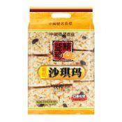 Jingyizhen Sachima Raisin Flavor Soft Flour Cakes 18.27oz(518g), Jingyizhen 강정 포도맛 18.27oz(518g), 精益珍 沙琪瑪 (葡萄味) 18.27oz(518g)