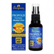Evergreen Propolis Oral Spray (Alcohol Free) 1.01 fl.oz(30ml), 에버그린 프로폴리스 스프레이 (알코올 프리) 1.01oz(30ml), Evergreen 蜂膠噴霧(不含酒精)1.01 fl.oz(30ml)