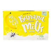 Haioreum Banana Flavored Milk Drink 6.76 fl.oz(200ml) 6 Packs , 해오름 바나나 우유 6.76 fl.oz(200ml) 6개입, Haioreum 香蕉牛奶 6.76 fl.oz(200ml) 6包