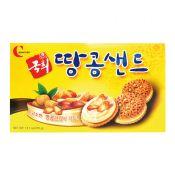 Crown Kook Hee Biscuit 13.1oz(372g), 크라운 국희 땅콩샌드 13.1oz(372g)