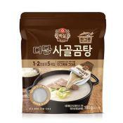 Beksul Dadam Beef Bone Stock Soup 3.52oz(100g) (20g x 5ea),백설 다담 사골곰탕 한 그릇 3.52oz(100g) (20g x 5ea)