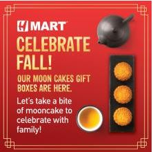 Celebrate Mid-Autumn Festival with H Mart!
