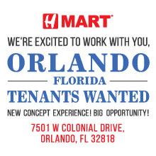 H Mart Orlando Tenants Wanted!