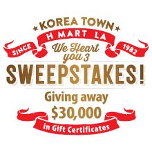 H Mart LA Korea Town - We Heart You 3