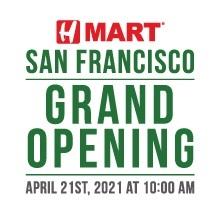 H Mart San Francisco - Grand Opening!