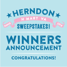 H Mart Herndon Thank You Sweepstakes Event Winner Announcement