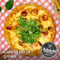 Kimchi pizza / 김치피자