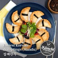 Fried dumplings (Mandu) / 잡채만두