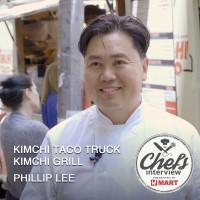 Chef Phillip Lee : Kimchi taco truck & Kimchi grill