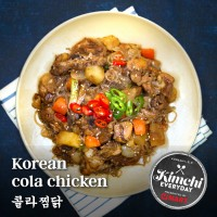 Korean cola chicken / 콜라찜닭