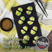 Beef Avocado rice roll / 소고기아보카도초밥