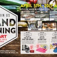 [Grand opening] Hmart  San Jose-De Anza, CA