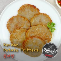 Korean Potato Fritters / 감자전