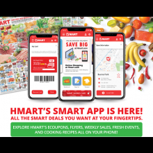 HMART'S SMART APP IS COMING SOON!