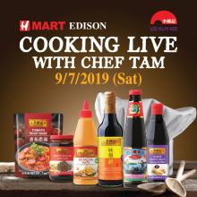ONE DAY ONLY!  Live Cooking Show with Chef Tam!