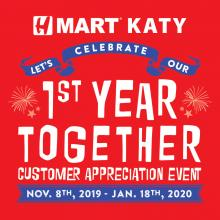 H Mart Katy (TX) 1st Year Anniversary Event