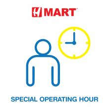 Special Operating Hour