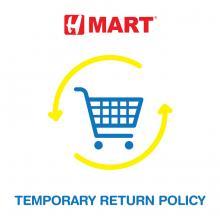 Temporary Return Policy