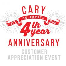 H Mart Cary, NC - The Fourth Year Anniversary Event!