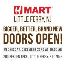 H Mart Little Ferry - Doors Open!