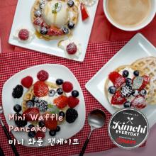 Mini Waffle Pancake / 미니와플 팬케이크