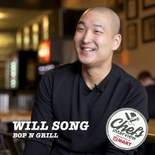 Chef William Song at bopNgrill : Philly Bulkogi Eggroll / 필리 불고기 에그롤