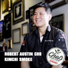 Chef Robert Cho at Kimchi Smoke BBQ : Korean Slaw