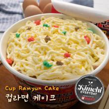 Cup Ramyun Cake / 컵라면 케이크