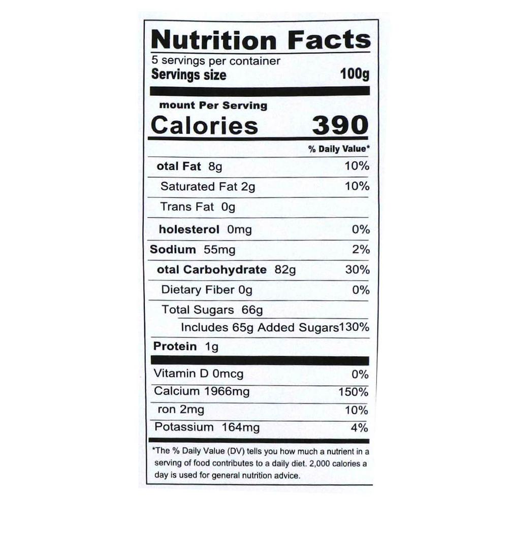 Bubble Tea Mix Instant Powder Mango 1.1lb(500g)