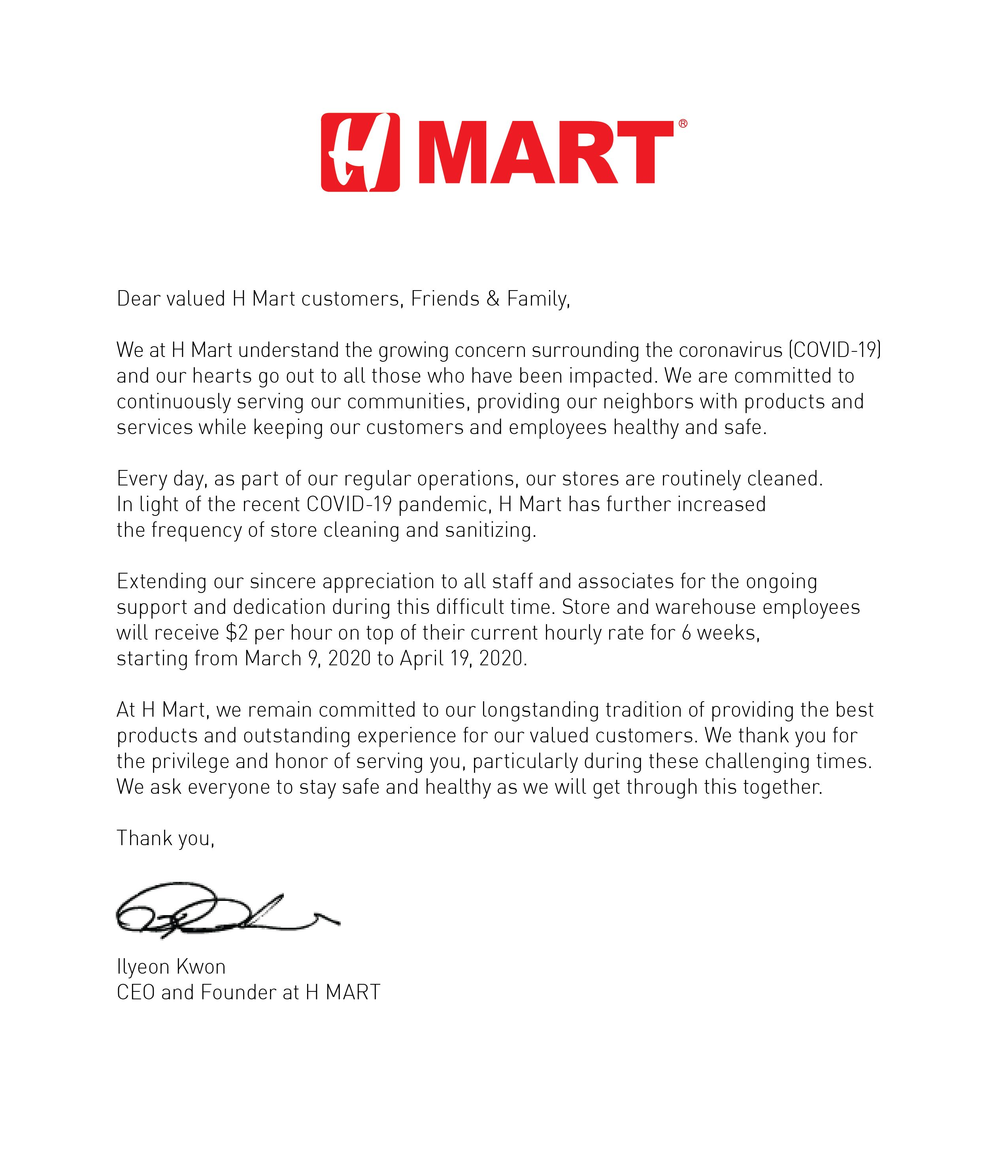 a message from our ceo en
