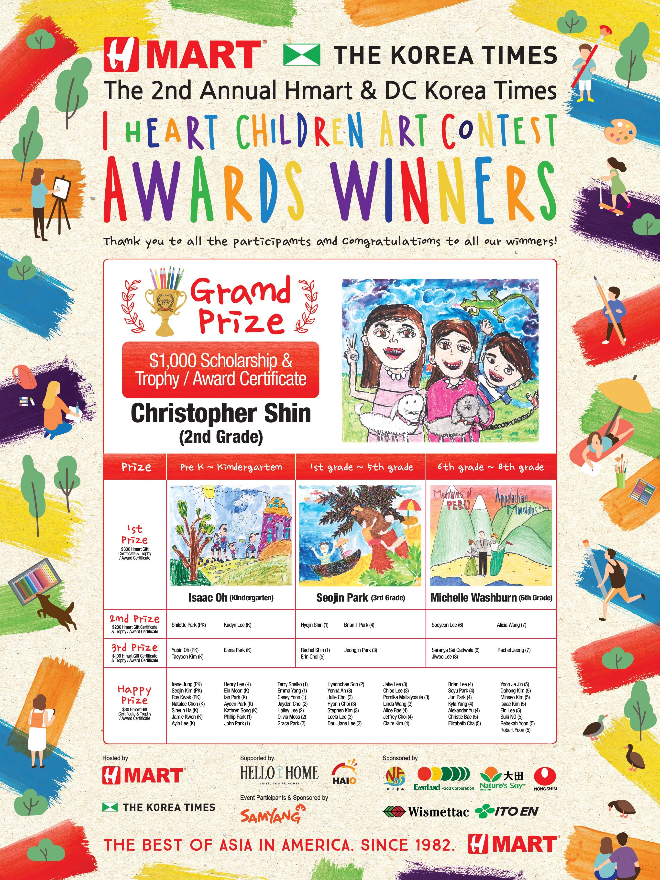 2018_VA 어린이 그림그리기 대회 수상자_POSTER-01