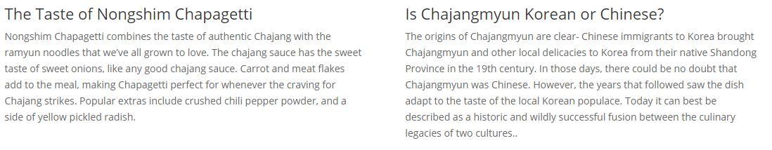 Chapagetti Chajang Noodle 4.5oz(127g) 16 Packs