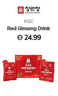 KGC Korean Red Ginseng Drink