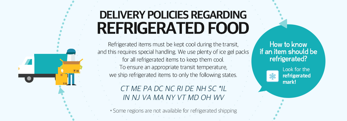 Refrigerated Items Delivery Policies
