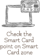 check the smart card point on smart card zone
