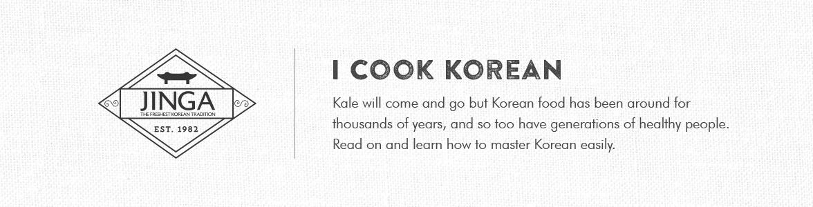 I COOKED KOREAN