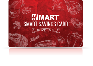 Hmart smart saving card