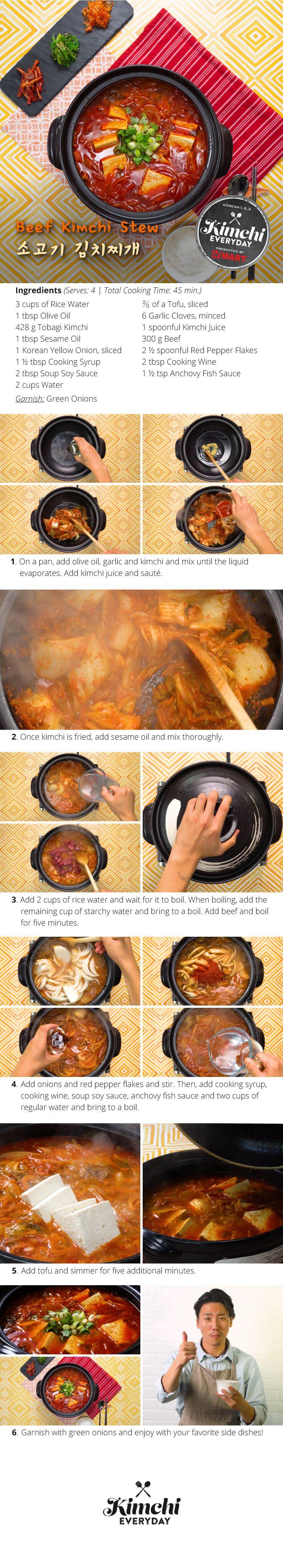 Beef Kimchi Stew