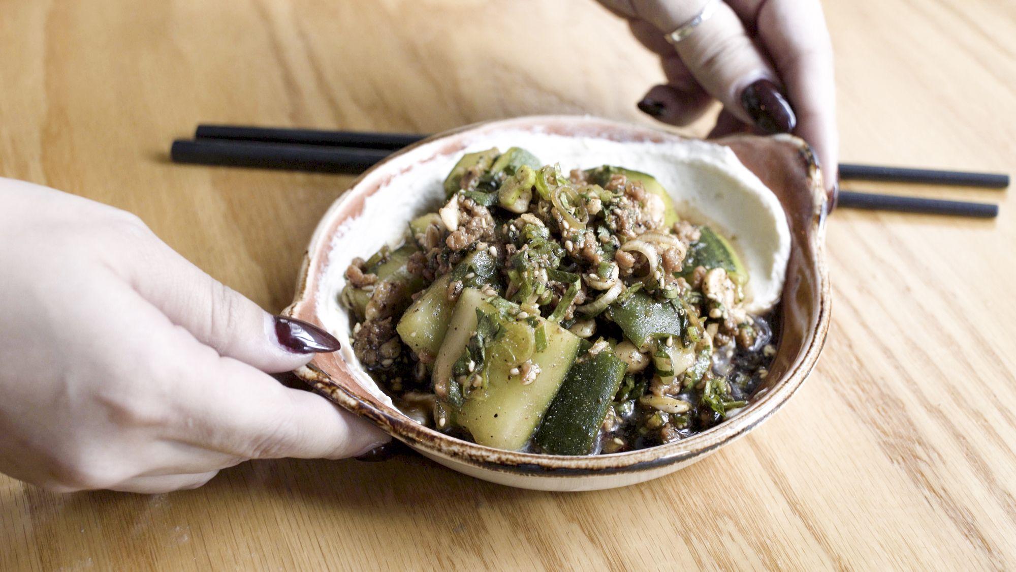 Numbing Cucumber Salad / 사천 후추 오이 샐러드
