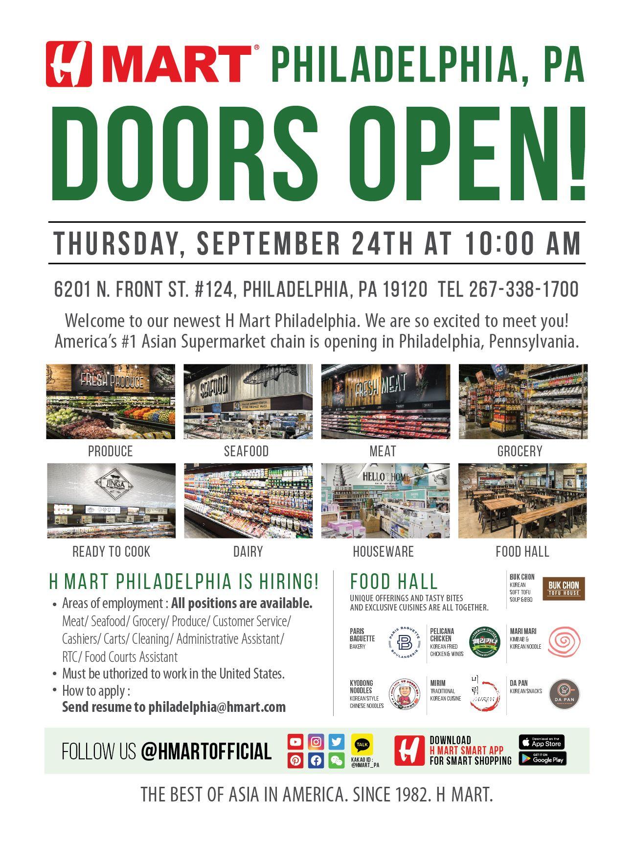 philadelphia doors open