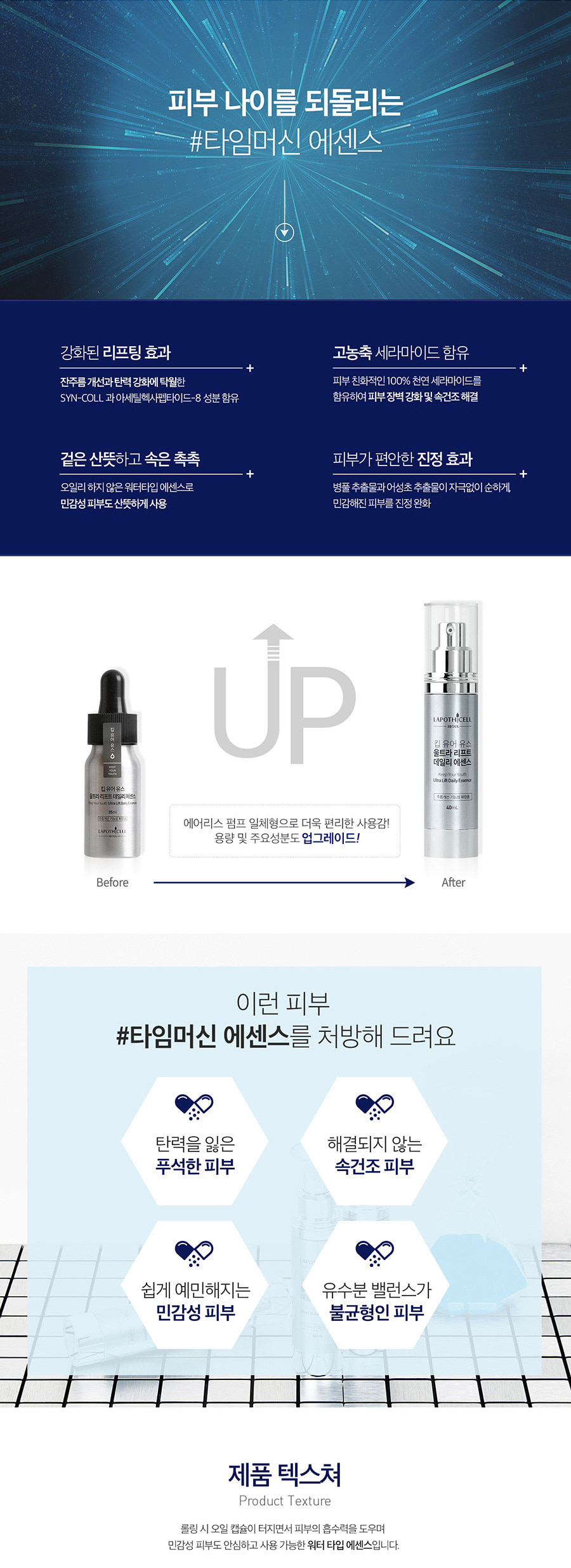 Keep Your Youth Ultra Lift Daily Essence 1.35oz(40ml)