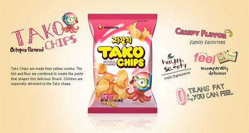 Tako Chips Big Size 10.09oz(286g)
