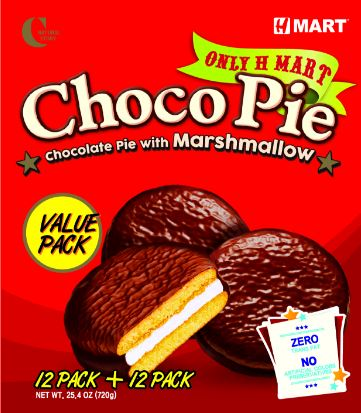 Choco Pie Value Pack 1.05oz(29g) 24 Packs Box