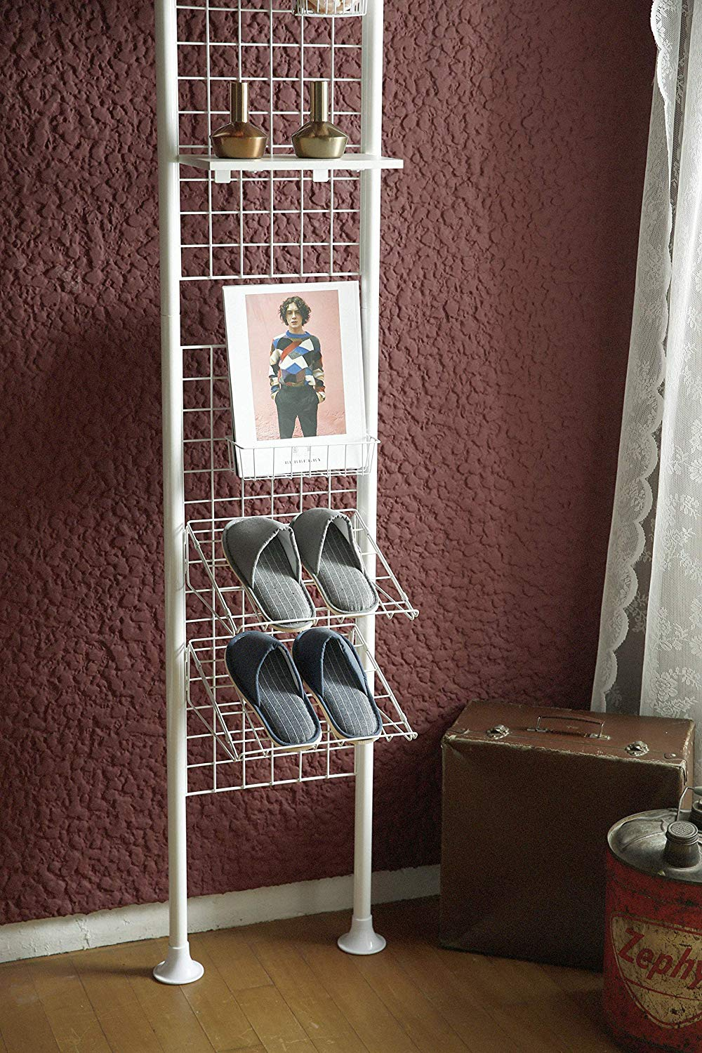 Magic Partition Hanging Steel Shoe Stand